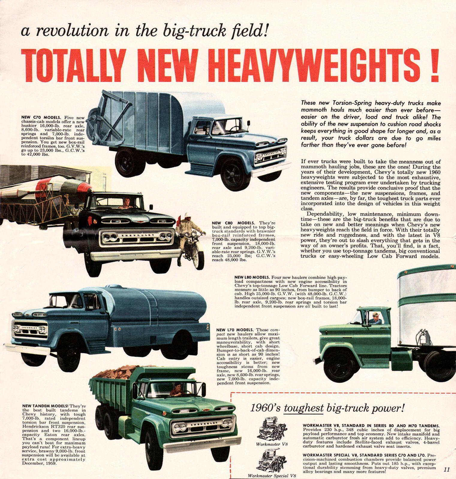 1960 Chevrolet Truck Mailer 11 Big Trucks Trucks Chevrolet Trucks