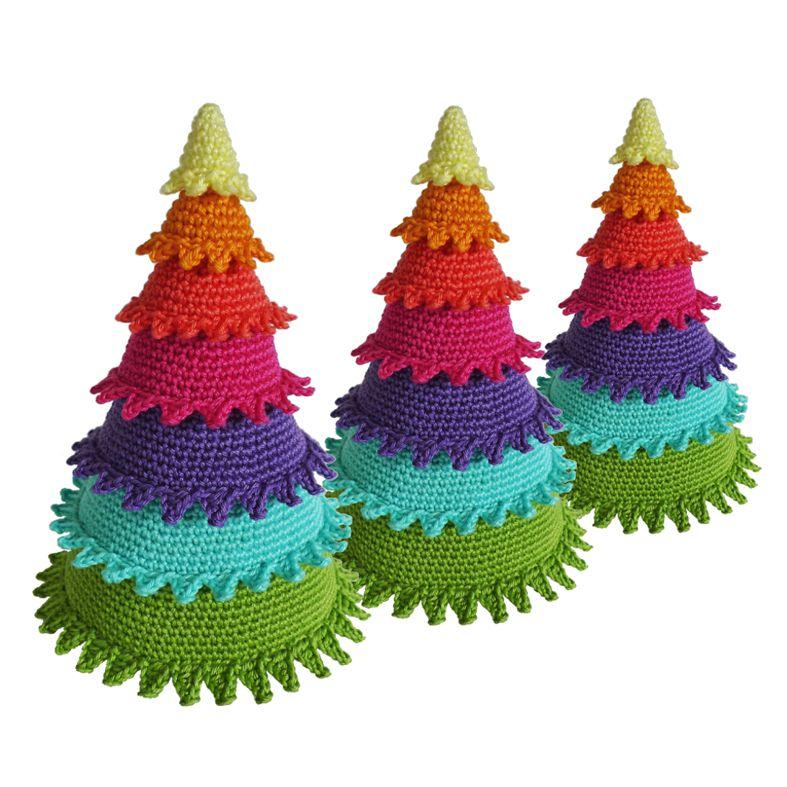 detallelogia arboles de navidad diy con telas cojines botones perchas - Arbol De Navidad De Tela