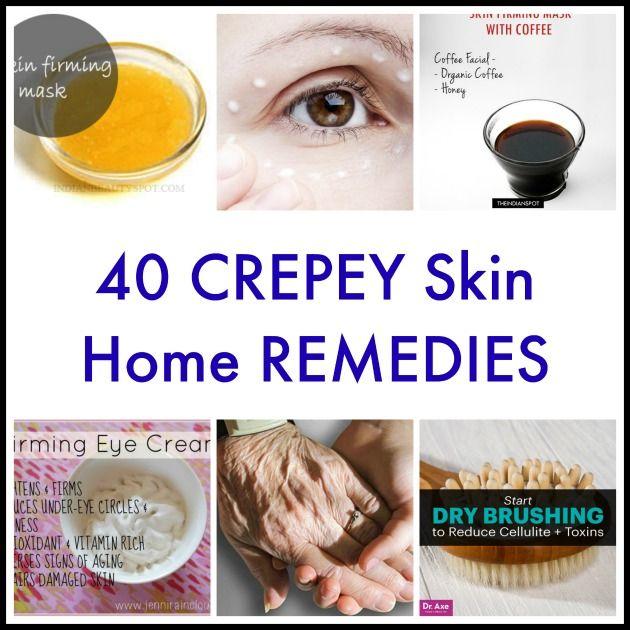 40 Crepey Skin Home Remedies Crepey Skin Healthy Skin Cream Aging Skin Care