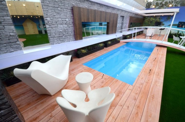 Piscinas peque as para terrazas y patios modernos patio - Piscinas pequenas precios ...