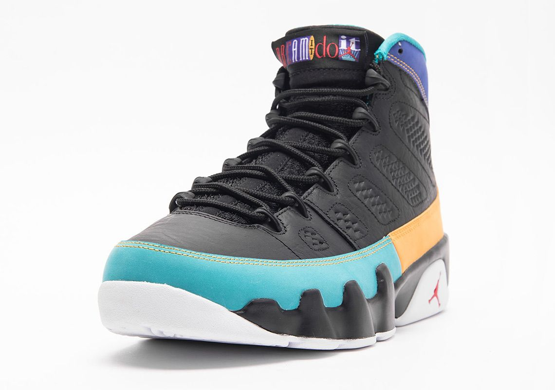 e3be6775e6ce36 Air Jordan 9 Dream It Do It Releases On March 9th
