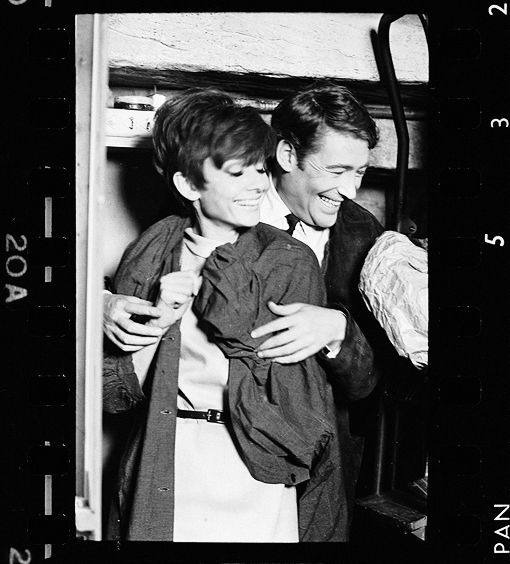 Peter O'Toole and Audrey Hepburn in How to Steal A Million.
