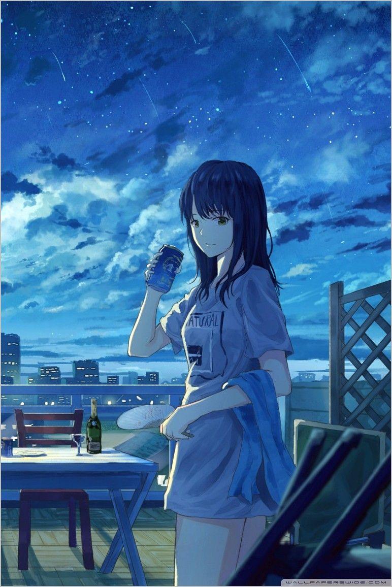 Anime Original Wallpaper 4k in 2020 | Iphone wallpaper ...
