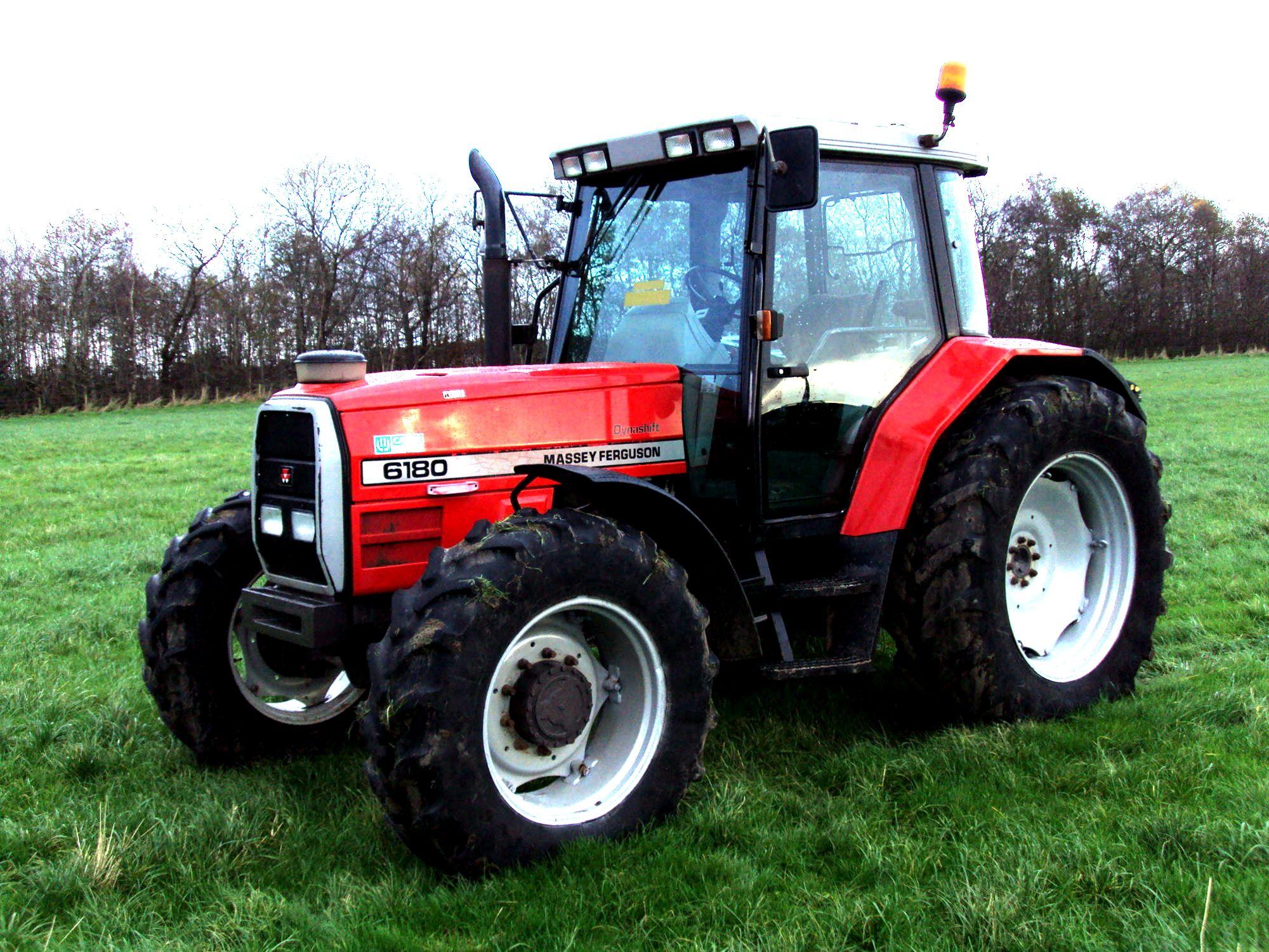 Massey Ferguson 6180 Dynashift Tractors Massey Ferguson Farm Machinery