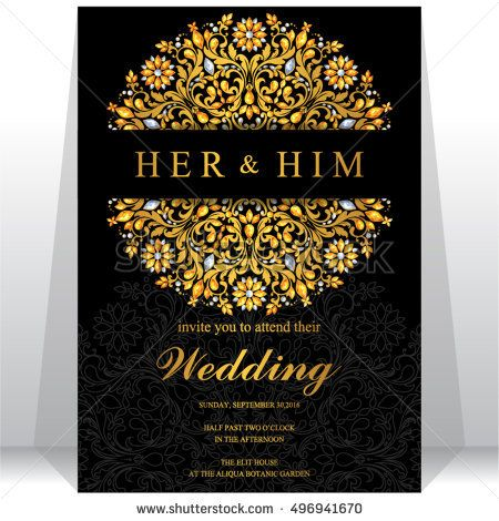 Indian wedding invitation or card with abstract background Islam - fresh wedding invitation card on whatsapp