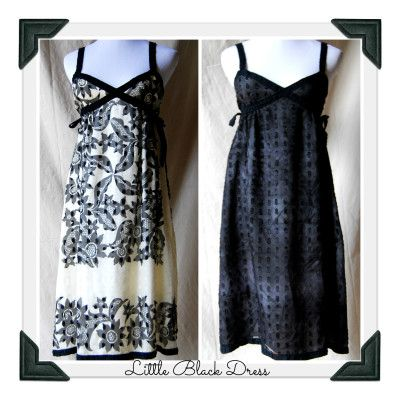 From Patterned To Black Little Black Dress Makeover With Images