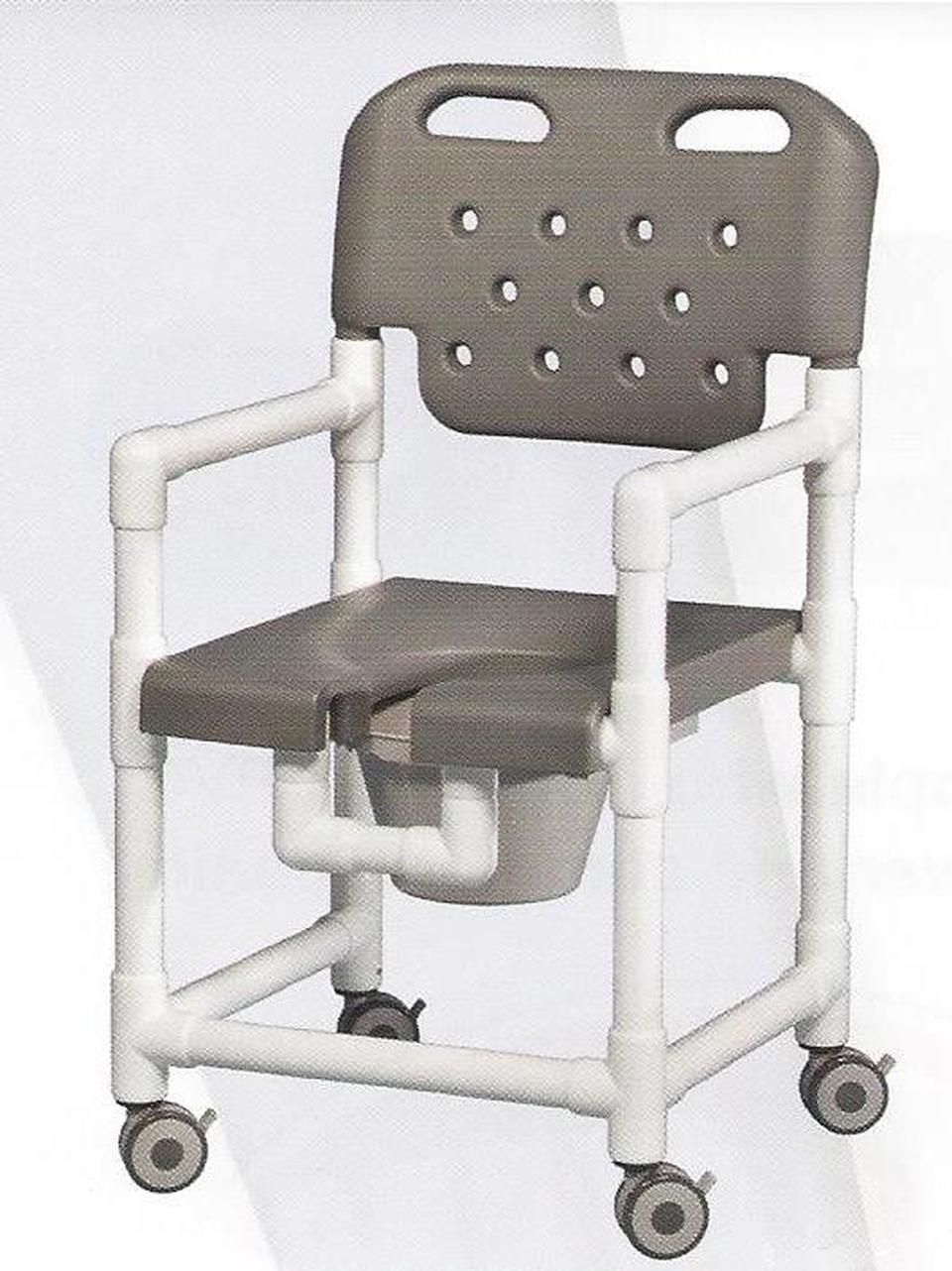 Elite Series Rolling Shower Commode Chair With Footrest Shower Commode Chair Commode Chair Shower Chair