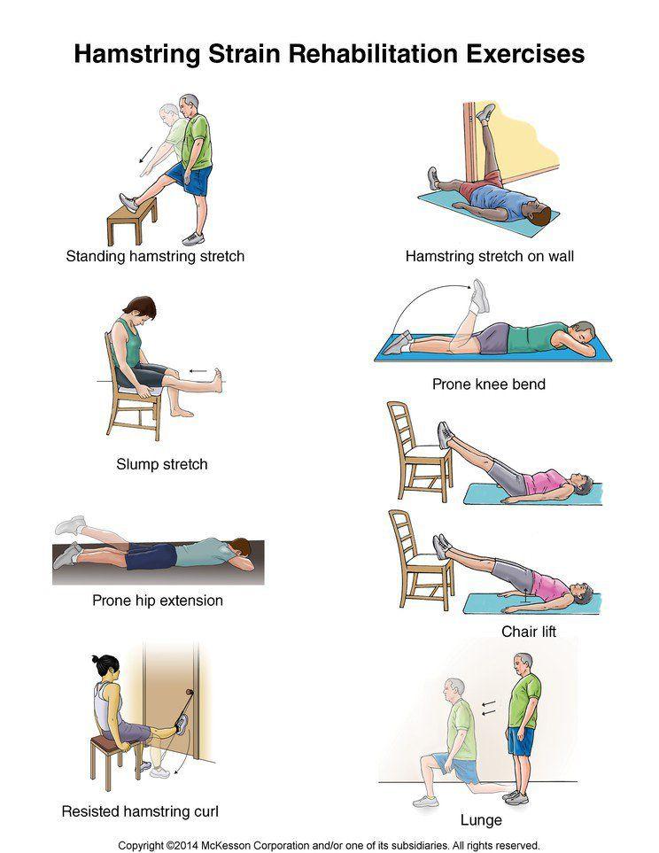 Summit Medical Group Rehabilitation Exercises Hamstring Workout Exercise