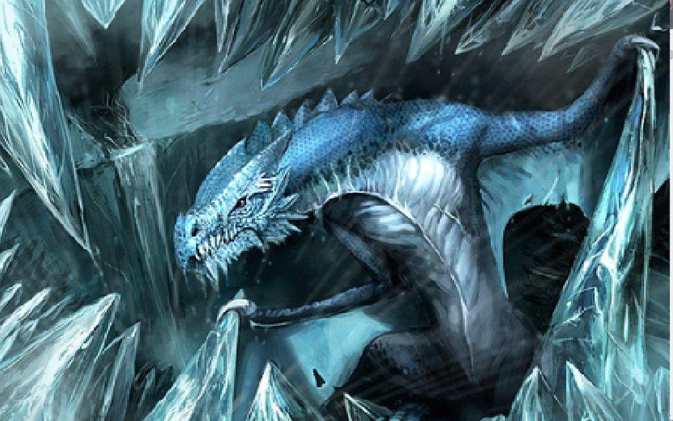 pin cool ice dragons