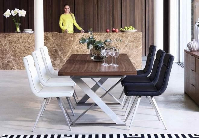 Kriss Kross Dining Table From Furniture Village Modern