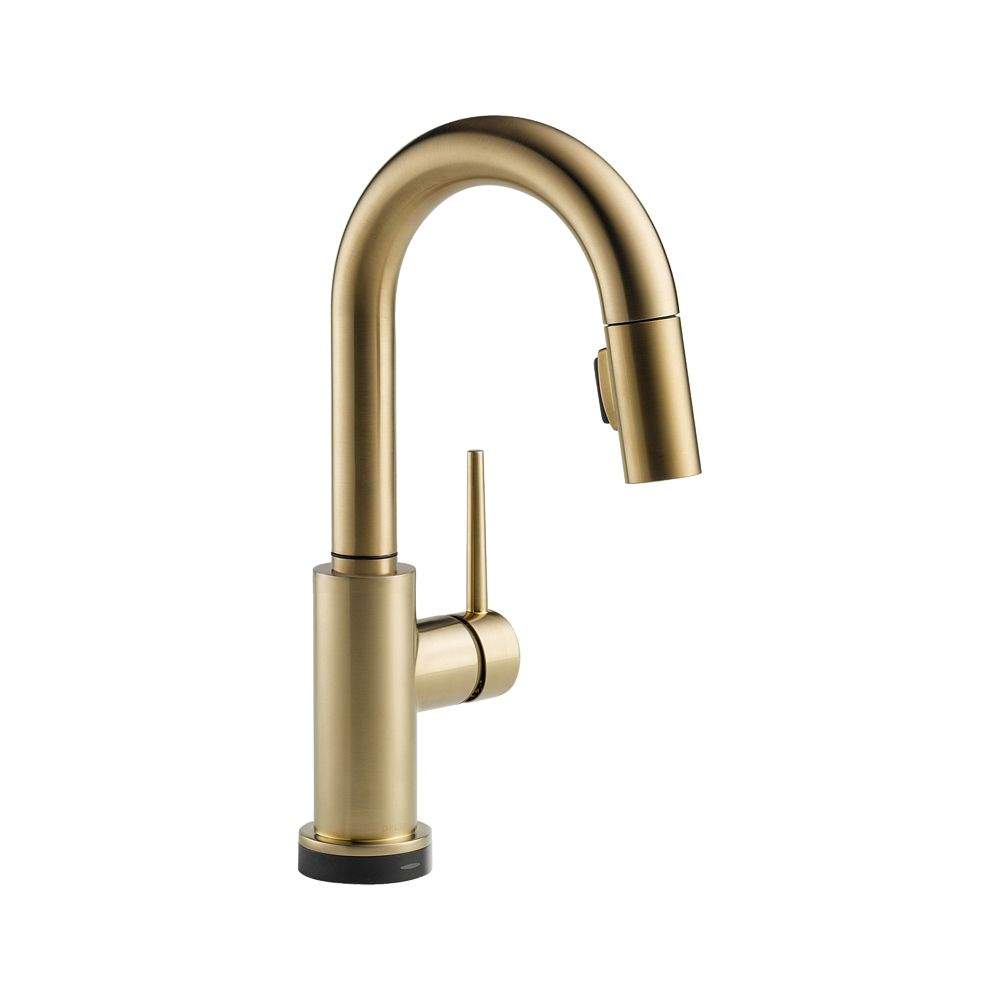 Delta 9959T-CZ-DST Trinsic Series Deck-Mounted Pull-Down Kitchen Faucet $455.70