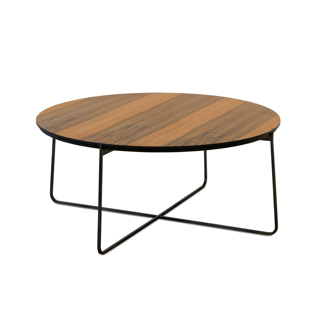Cuvee Side Table Round Walnut