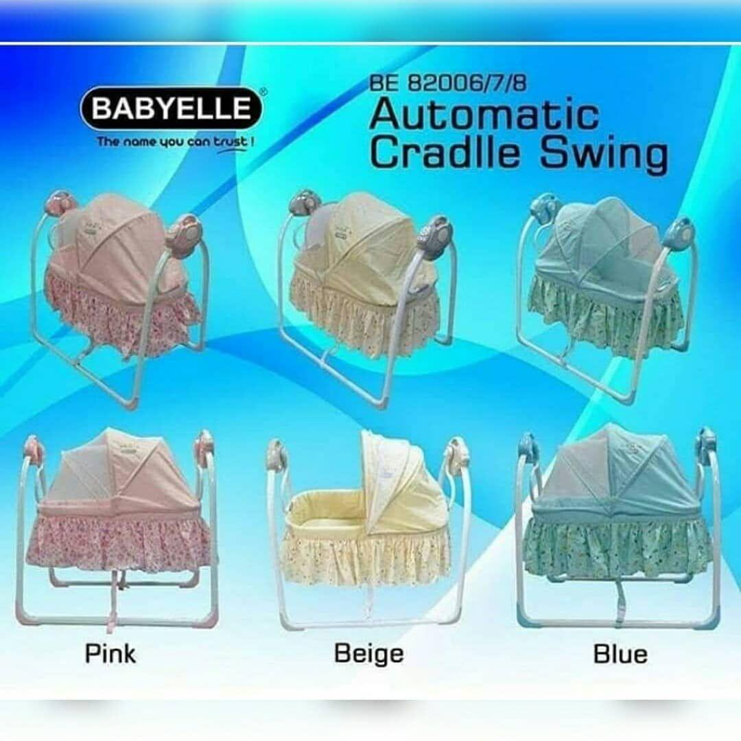Babyelle Swing Automatic Ayunan Otomatis Menyesuaikan Kinerja