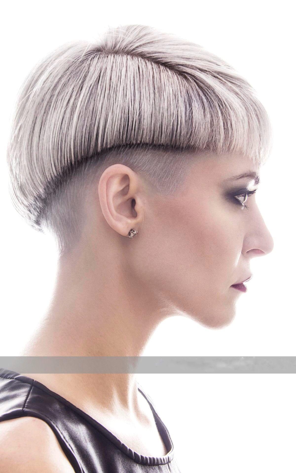 Bowl Undercut Coiffure Pinterest Short Hair Styles Hair And