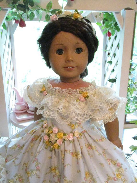 Southern Belle Historic Doll Dress to fit your 18 American Girl Doll from Civil ...,  #Americ... #dressesfromthesouthernbelleera