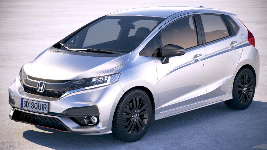 Honda Jazz 2018 3d Model Cgstudio Autok Es Motor