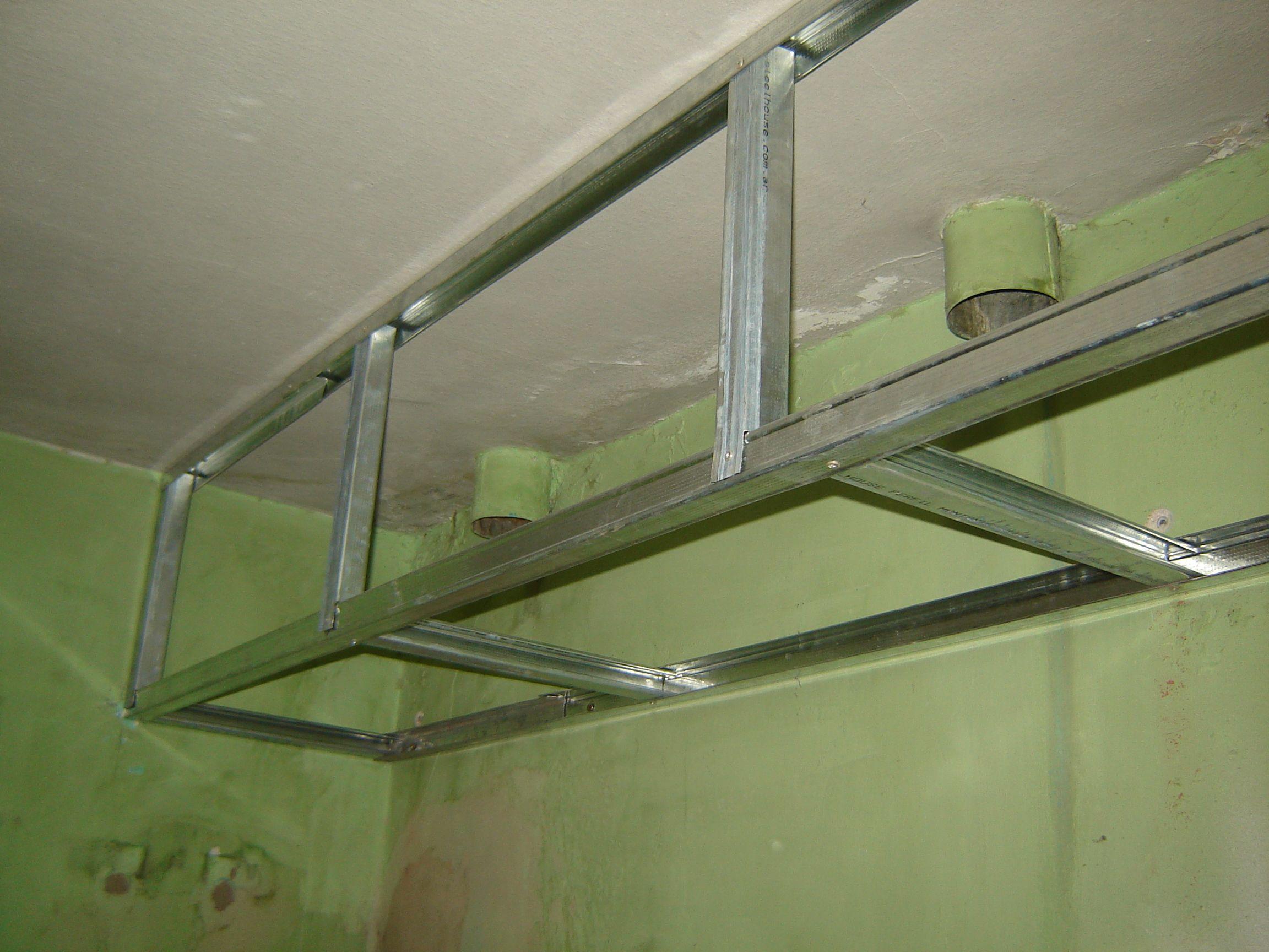 Resultado De Imagen Para Falsa Viga De Durlock Cocina  # Muebles Durlock Paso A Paso