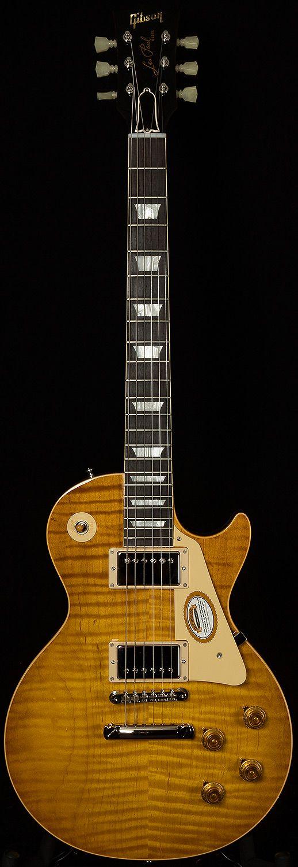 Gibson Custom Shop Wildwood Spec By Tom Murphy 1960 Les Paul Standard Hand Painted Tom Murphy Murphy S Lemon Weight 8 56 Guitar Les Paul Guitars Gibson Guitars