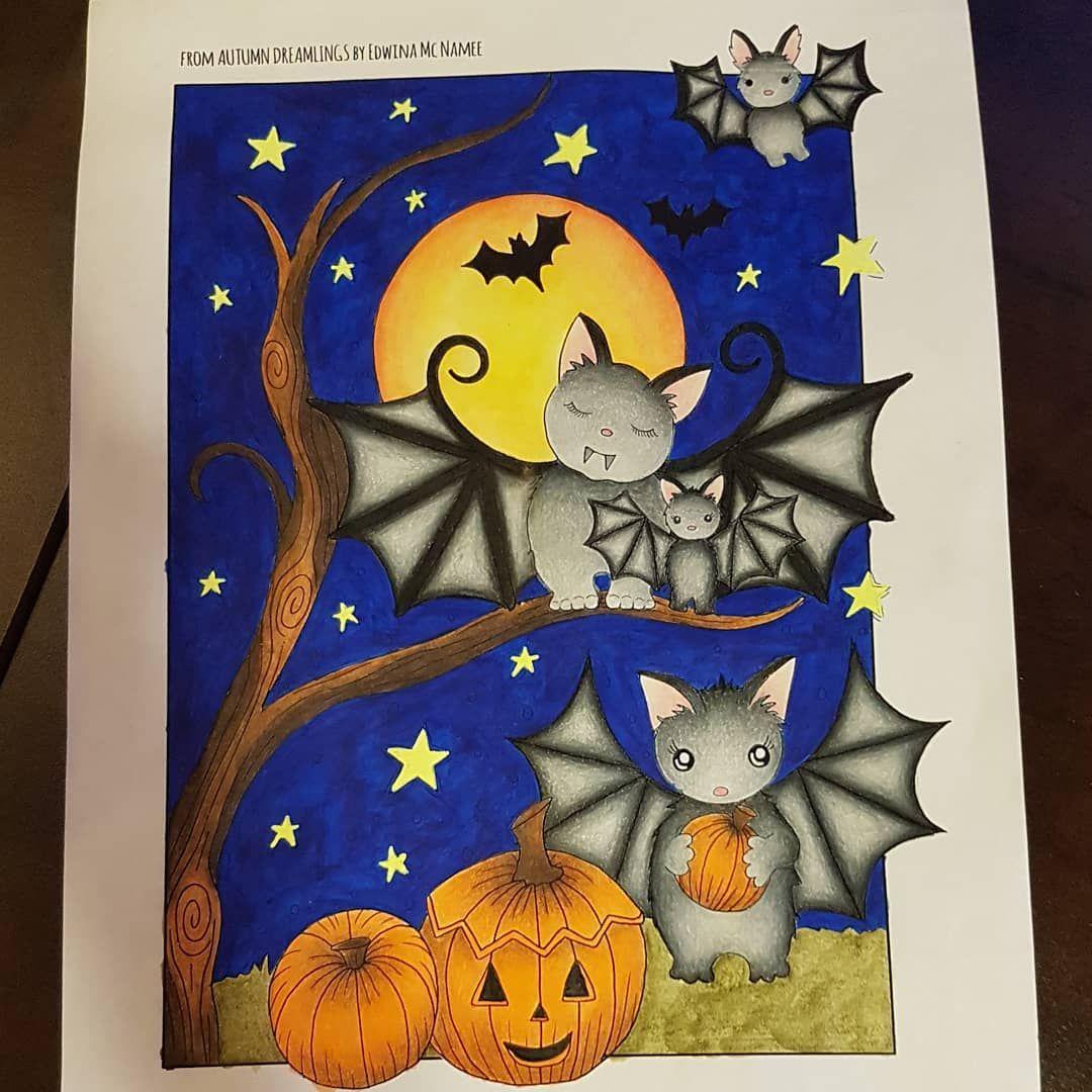 Happy Halloween! 🎃🐱🦇 edwinamcnamee autumndreamlings