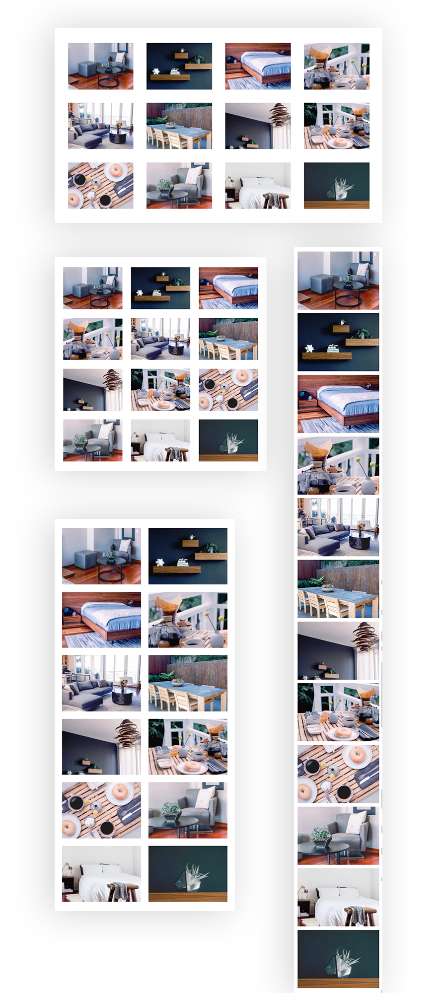 Using The Divi Gallery Module To Create An Image Gallery With Custom Spacing Gallery Space Gallery Grid Layouts