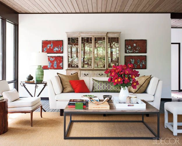 Photos of Glass Houses -- Updating a Midcentury Modern Home - ELLE DECOR