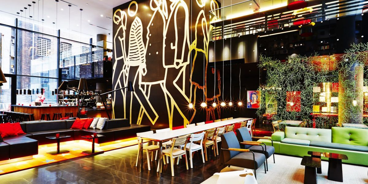 What Makes Citizenm S New York Hotel So Architecturally Ealing Http Www