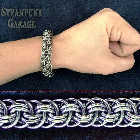 Https Www Google Nl Blank Html Stainless Steel Bracelet Chainmaille Bracelet Celtic Knot Bracelet