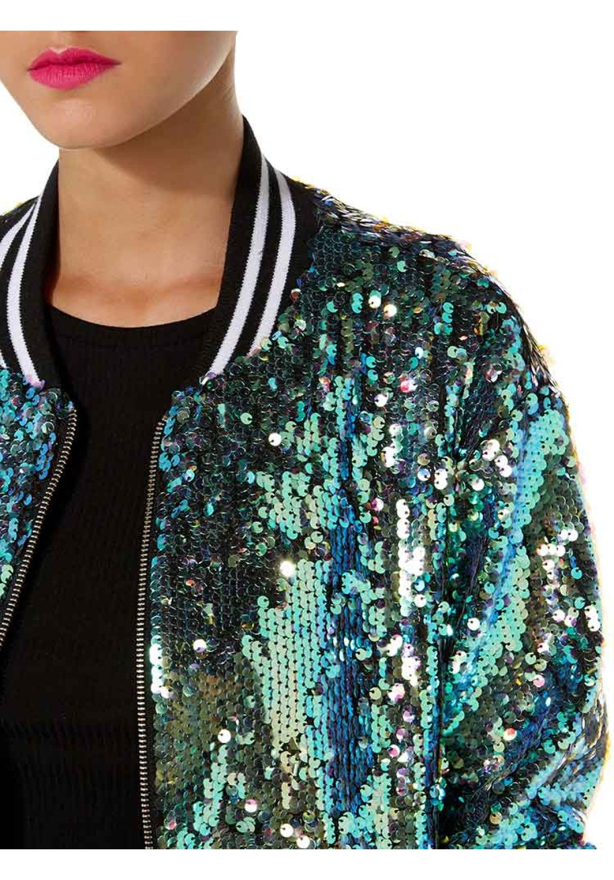 a3e18764 Mermaid Sequin Bomber Jacket | Style & More | Fashion, Mermaid ...