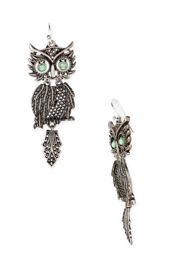 Love Lucky Brand Jewelry And Especially These Owl Earrings