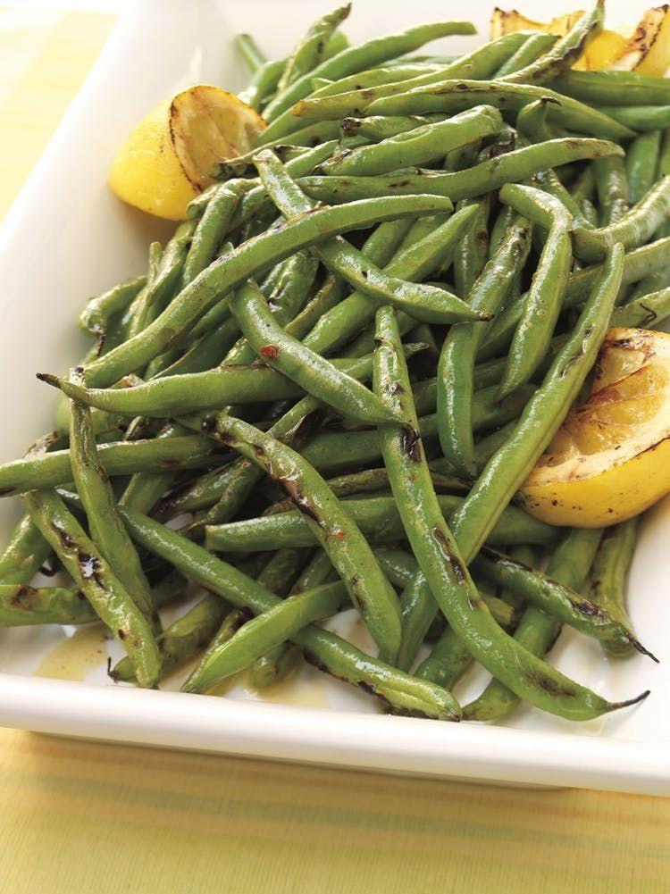 Photo of Green beans with lemon oil Vegetable Recipes – Green Beans …
