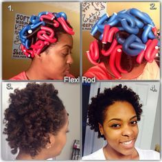 styling your hair flexi rods on hair search curly 6990