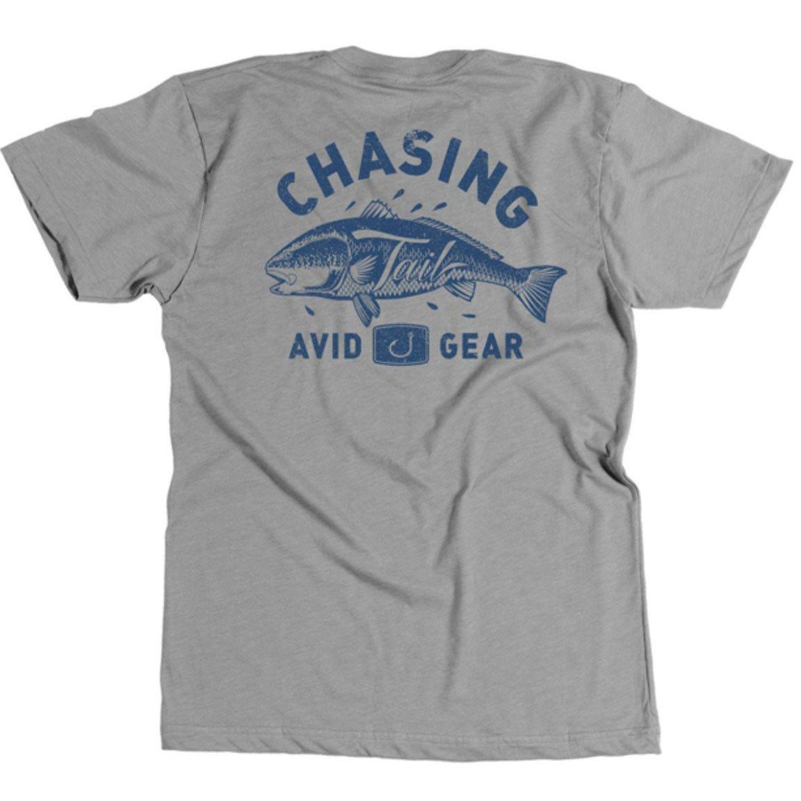 Avid - Chasing Tail Tee - Heather Grey