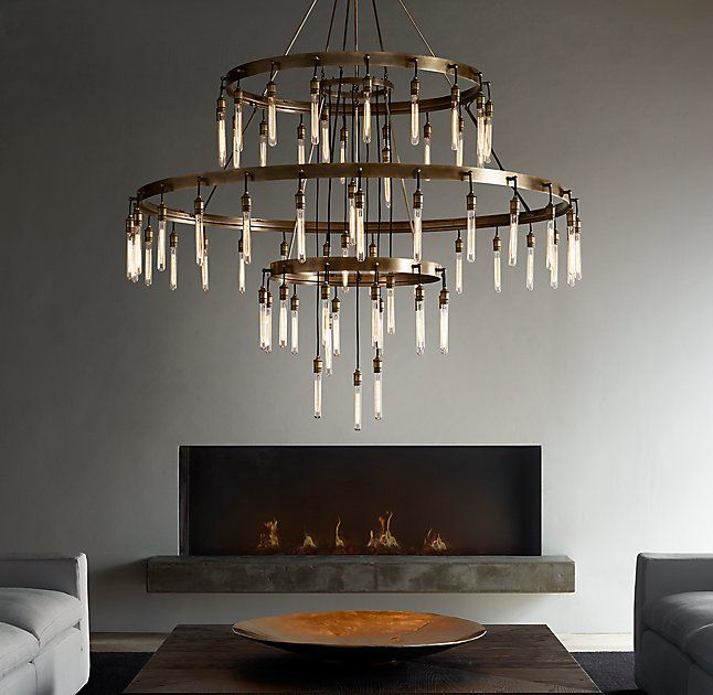 Axis 3 Tier Chandelier 72 Lighting In 2019