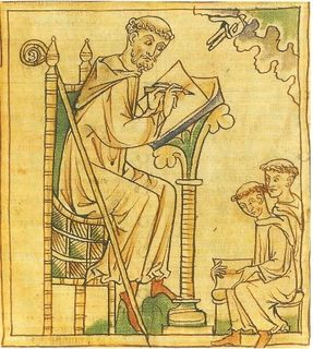 Segunda Cruzada San Bernardo De Clairvaux En Una Miniatura De