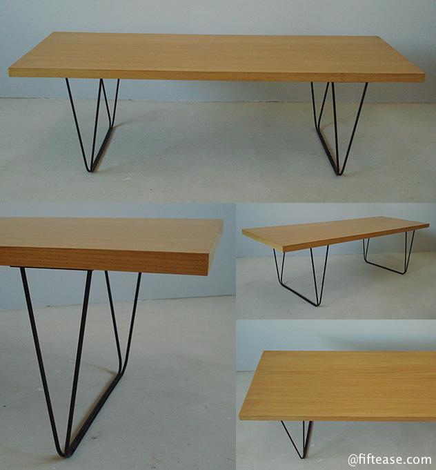 pierre paulin designer table basse mod le cm191 plateau rectangulaire en placage de. Black Bedroom Furniture Sets. Home Design Ideas
