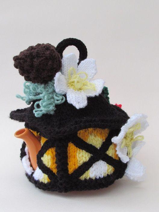 Christmas Lantern tea cosy knitting pattern   Teteras, Hora del té y ...