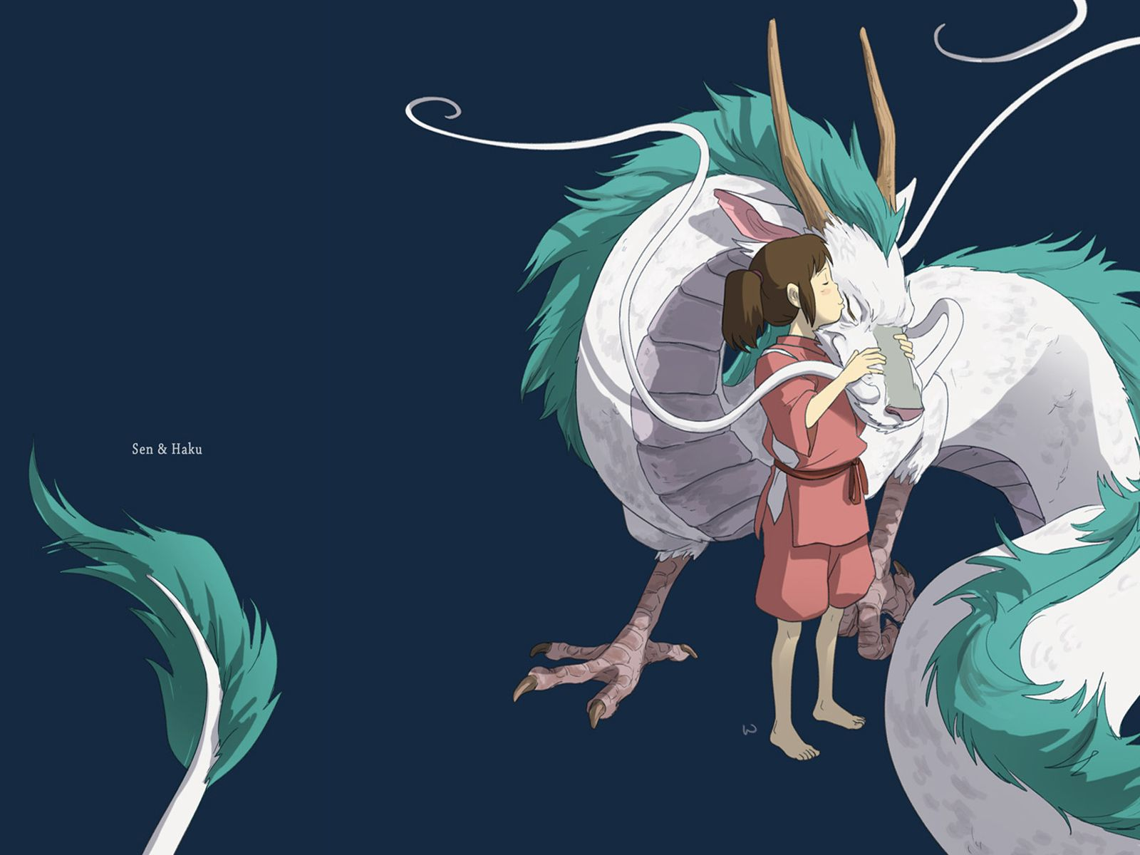 Haku The River Dragon Of Spirited Away Spirited Away Dragon Ghibli Dragon Pictures