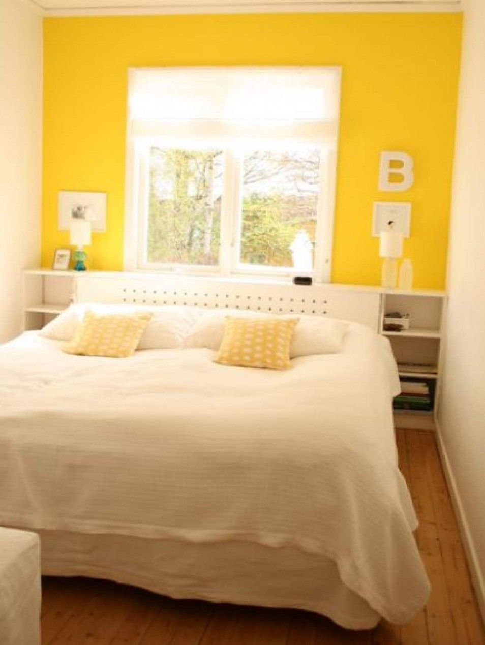 Green And Yellow Room Bedroom Image Bright Atmosphere In Sweet ...