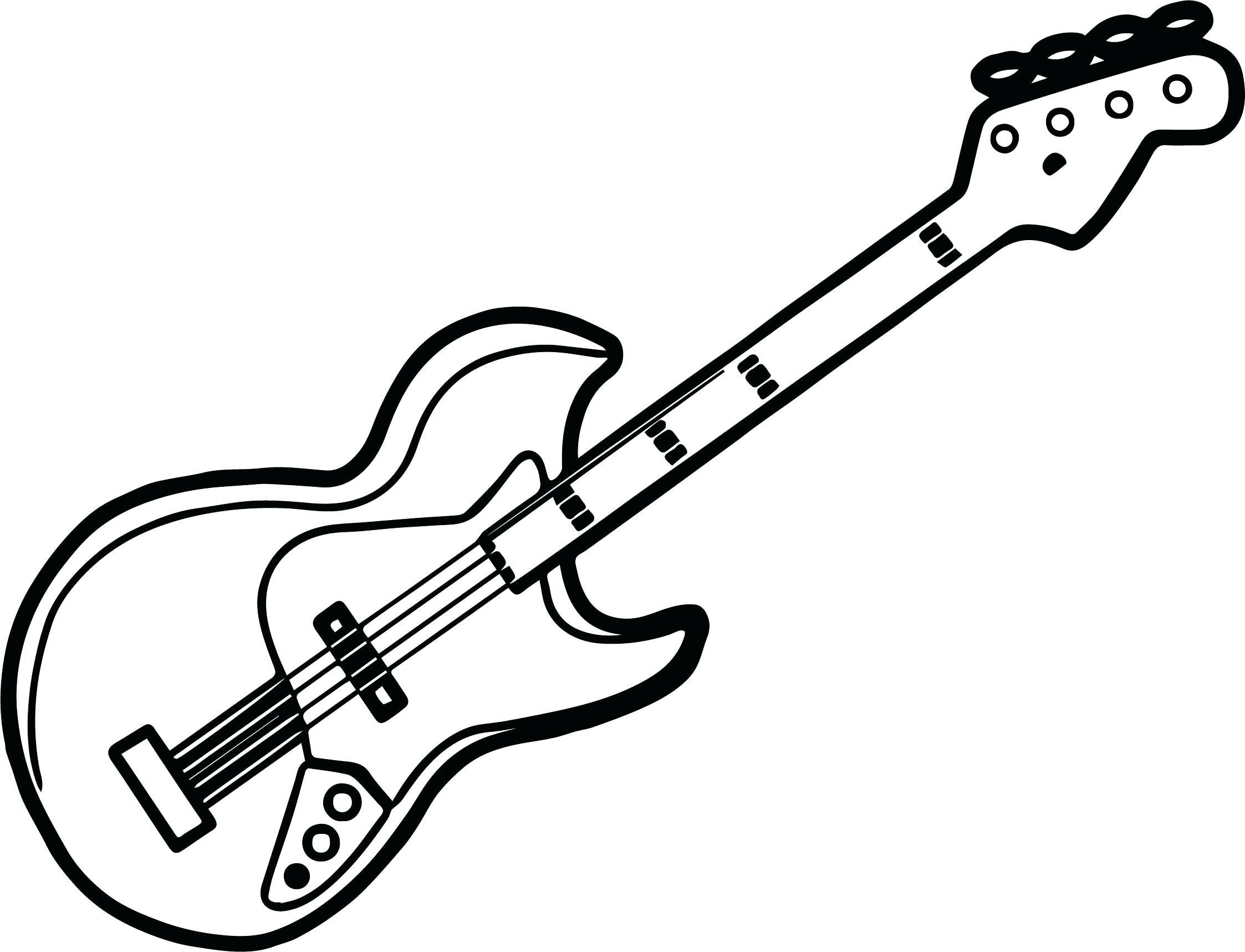 16 Coloring Page Guitar Coloring Pages Coloring Pages To Print Color