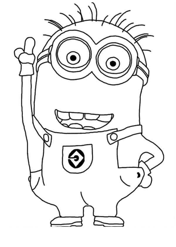 despicable me 2 coloring pages lucy | Minions | Pinterest ...