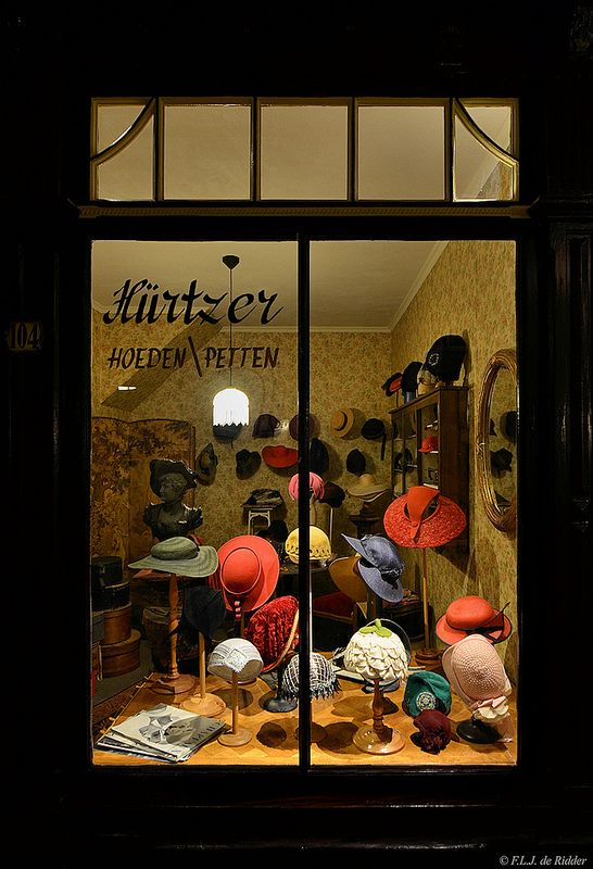 The old ladies hat shop in Netherlands. e3d9ff70135