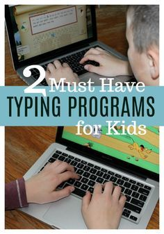 Photo of Two MUST HAVE Typing Programs for Kids