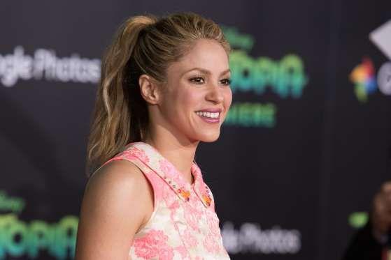 Shakira - Rob Latour/REX/Shutterstock