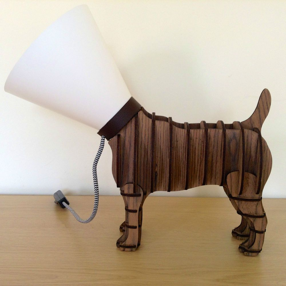 Next Novelty Wooden Dog Lamp Ebay Dog Lamp Lamp Wooden