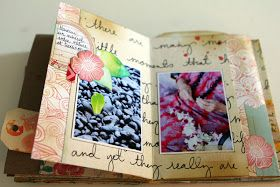 Crafting ideas from Sizzix UK: Exotic Mini Book