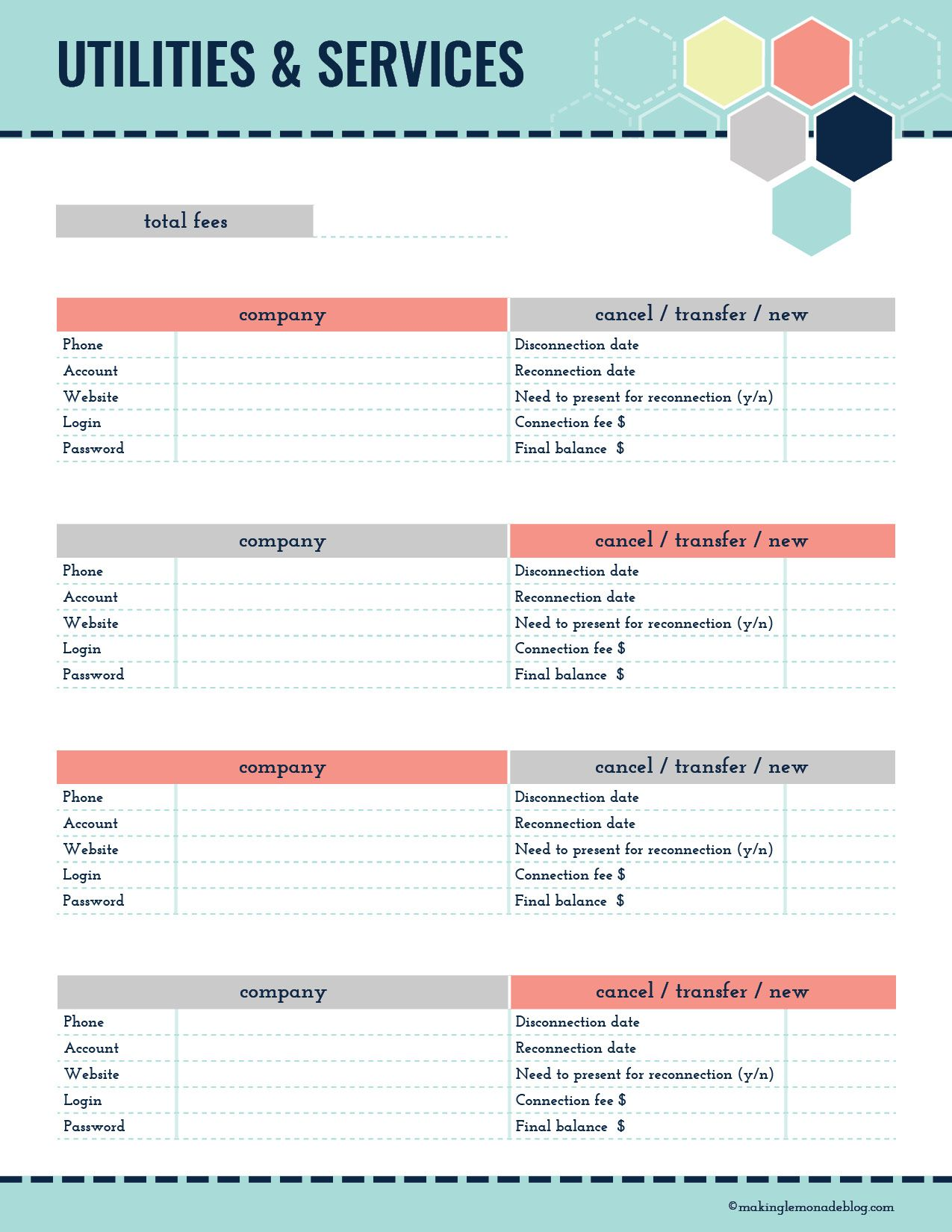 picture regarding Printable Moving Checklist and Planner called Best Assortment of Relocating Printables (Totally free Printable