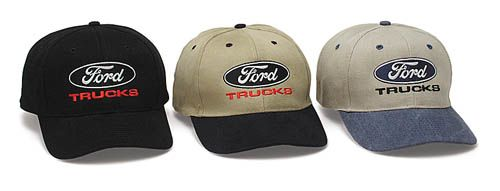 7bd8768546d7f8 Ford Trucks Two Tone Hat - Fine Embroidered Cap Ford Truck Hats - Cap This  great Ford hat features fine embroidered stitching Adjustable Velcro strap