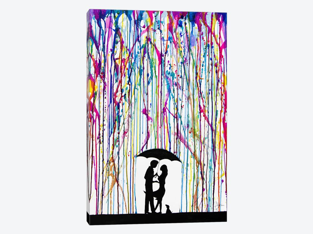 I want this!!!!  Two Step by Marc Allante 1-piece Canvas Artwork