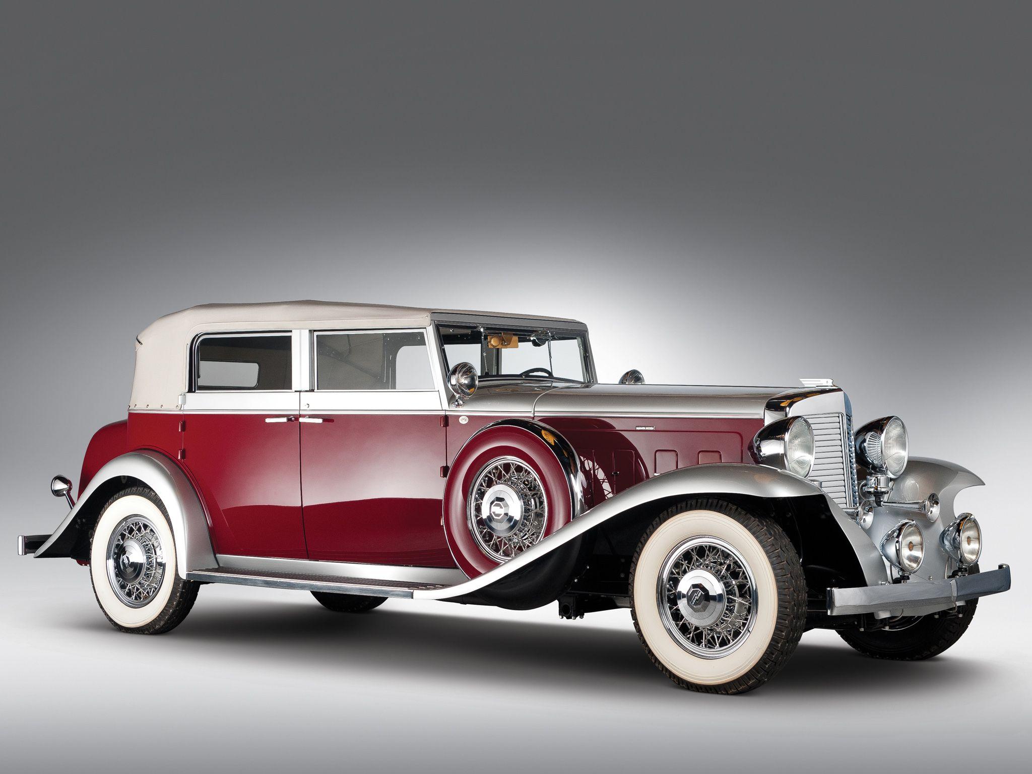 1933 Marmon Sixteen Convertible Sedan, Produce by Marmon Motor Car ...