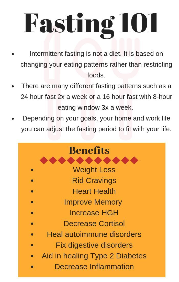 6 Benefits Of Fasting In 2020 Intermittent Fasting 24 Hour Fast